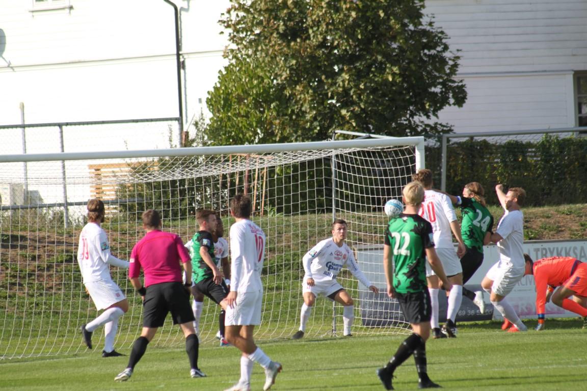 0-1 målet