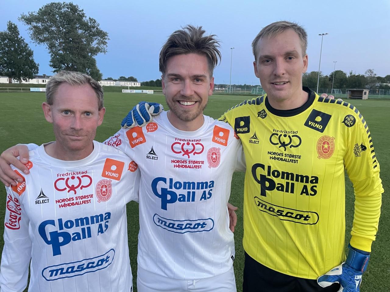 Michael Røn, Petter Stedjeberg og Christian Sukke